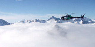 Beautiful on Top. Big Mountain, Bella Coola Heli Sports, BC, Canada